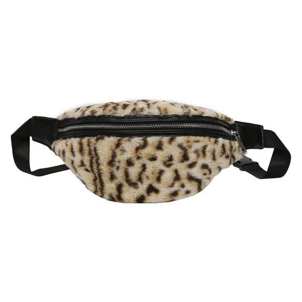 Women Waist Bags Leopard Printed Fanny Pack Money Pouch Travel Wallet Chest Handbags New Fashion Girls Casual Waist Pack