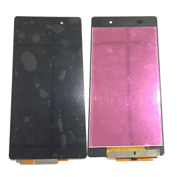 NEW LCD Display Touch Screen Digitizer For Sony Xperia Z2 L50W D6503 D6502 C770X Black With Tempered Glass DHL logistics