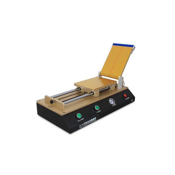 Large 14 inch OCA Film/Polarizer Adhesive Manual Laminating Machine For iPad Tablets Cracked LCD Screen Refurbishment