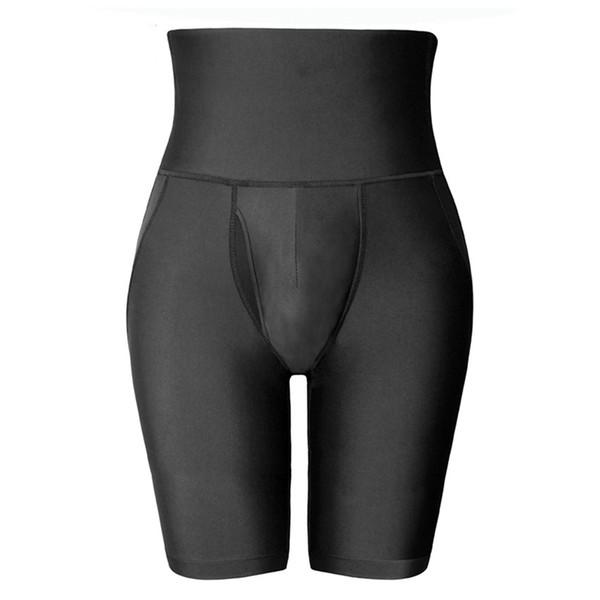 Erkekler Vücut Şekillendirici Butt kaldırıcı Siyah Bel Eğitmen Iç Çamaşırı Külot Adam Korse Zayıflama Kontrol Pantolon kalça Kaldırma Shaperwear