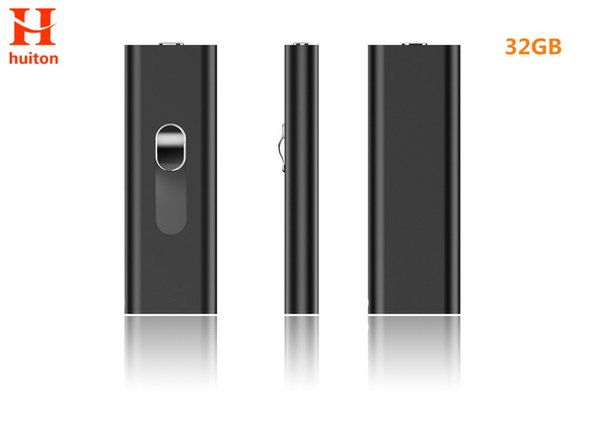 Newest 32GB micro voice recorder metal material with two USB slots long time record check all files by Android smart phone UR-26