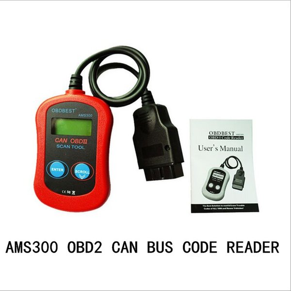 New arrival! Car trouble Computer tester Diagnostic tools AMS300 OBD2 CAN BUS CODE READER