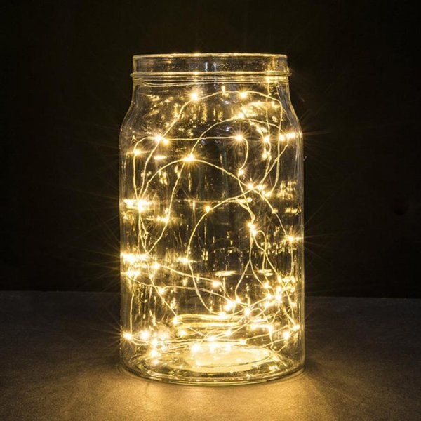 3M 30LED Christmas Tree Decoration Copper Wire String Light for Glass Craft Bottle Fairy Wedding Party Xmas Home Decorations D18110802