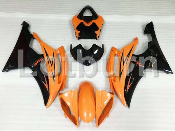 Orange Moto Fairing Kit Fit For Yamaha YZF600 YZF 600 R6 YZF-R6 2008-2016 08 - 16 Fairings Custom Made Motorcycle Bodywork Injection A427