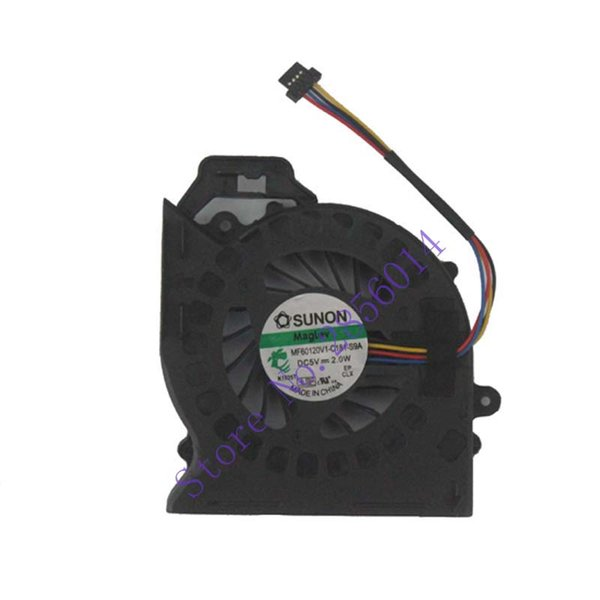 2pcs/For pavilion DV6 DV6-6000 DV6-6050 DV6-6090 DV6-6100 DV7-6000 P/N:MF60120V1-C181-S9A laptop CPU cooling fan cooler