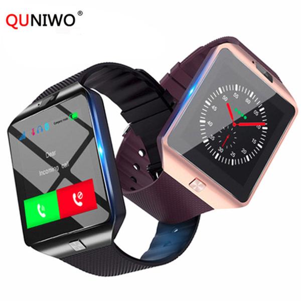 Bluetooth Smart Watch Uhren Smartwatch Relogios TF SIM-Kamera für IOS iPhone Samsung Huawei Xiaomi Android-Telefon PK Y1 A1