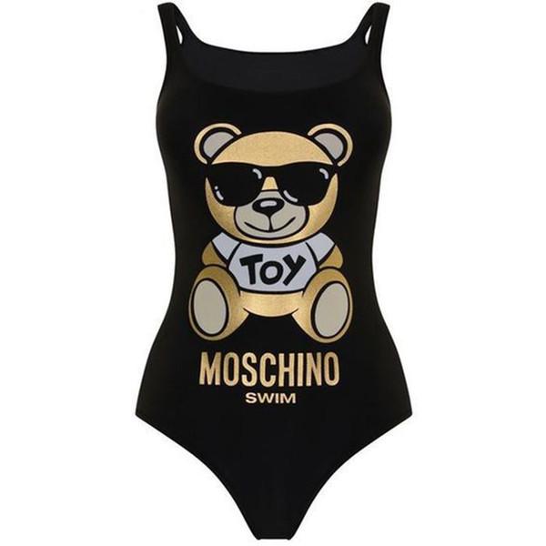 Broncea Diseñador Negro Peluche Compre Mujeres Sexy Bikini Que La Marca Moda Backless Oso De Traje Baño Lujo El m8wOyvn0N
