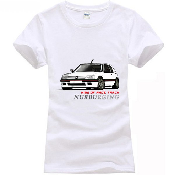 Peugeot 205 Gti Rally Racinger T-Shirt-in T-Shirts
