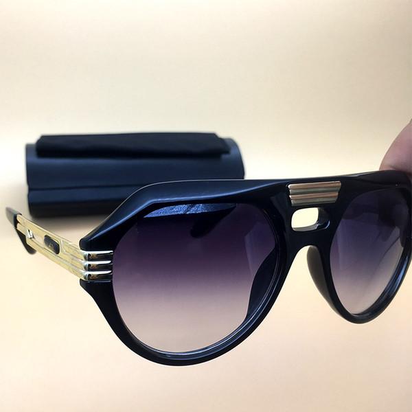 Legends Sunglasses Black Brown 2018 Summer shade New Womens sun glasses Brand Designer Eyeglasses Polarized lasses With Box 657