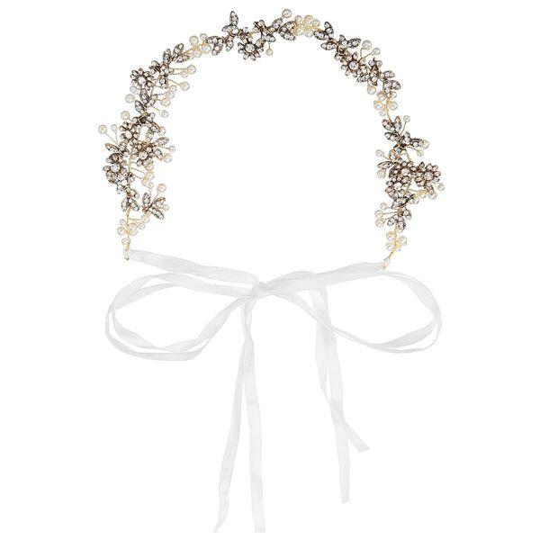 wedding Hair Crowns Flower Headbands Women Artificial Floral Hairbands Fashion Headwear for Girls Hair Accessories Beach Wedding Garlands