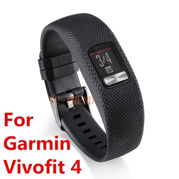 New arrival 10Color Replacement Smart wrist rubber Band watchband Silicone Strap For Garmin Vivofit 4 Vivofit4 Wristband