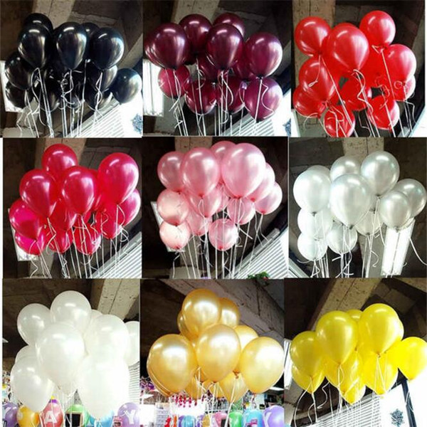 best selling 2.2g Decorative Balloons 15 Colors Inflatable Wedding Decorations Air Ball Happy Birthday Party Supplies Balloon Kids Toys