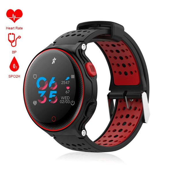 X2 Plus Smartwatches Bluetooth Smart Watch IP68 Wasserdicht Armband Herzfrequenz Blutdruckmessgerät für iPhone IOS Android Handys