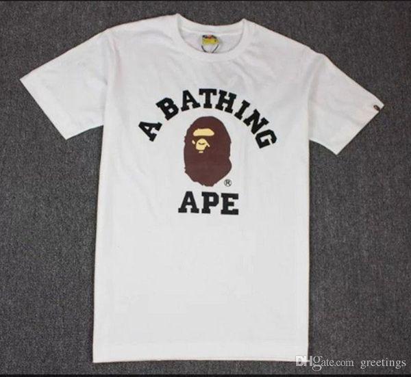 Japanese Tide Brand Cartoon Printing T -Shirt Men Women Lovers Fund Round Neck Short Sleeve T Shirt