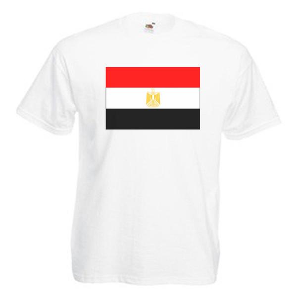 Ägypten Flagge Erwachsene Herren TShirt Lustige kostenloser Versand Unisex Casual