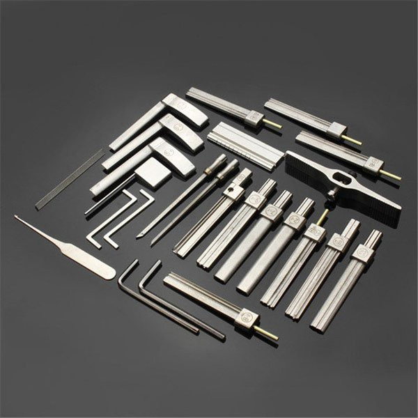 best selling HUK 10 generation Tinfoil Open lock tool allows producing prefabricated dimple pin impressioning keys in simple steps without profound skill