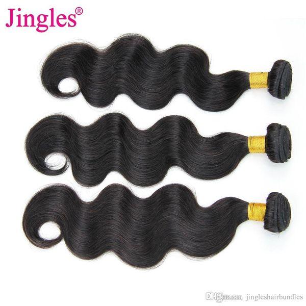 Jingles 8A Grade Body Wave Brazilian Virgin Hair Bundles Wholesale Cheap Brazilian Body Wave Human Hair Weave Bundles Deals 3/4 pcs 8-28inch