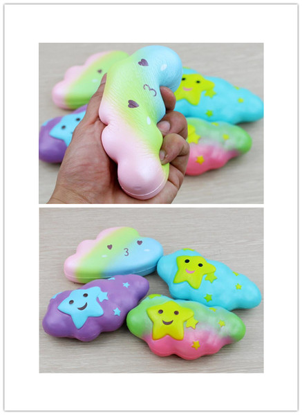 Squishy Toys Anti Stress Toy Clouds Style Slow Rising Outdoor Decompression Toy Photograph Props HCT 025