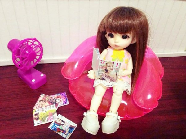 blyth Doll props accessories 1/6 BJD blyth doll Photography accessories For BJD pullip azone licca Inflate sofa