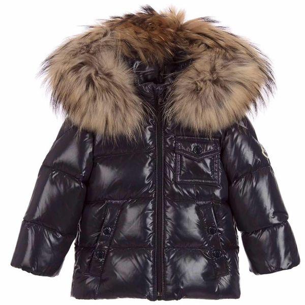 8ee0329790d5 2017 Kids Down Jacket Boys Girls 90% White Duck Down Coat Children ...