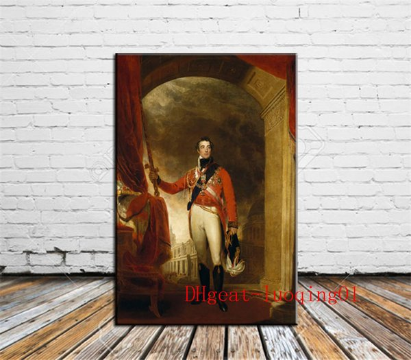 Duke of Wellington , Canvas Pieces Home Decor HD Printed Modern Art Painting on Canvas (Unframed/Framed)