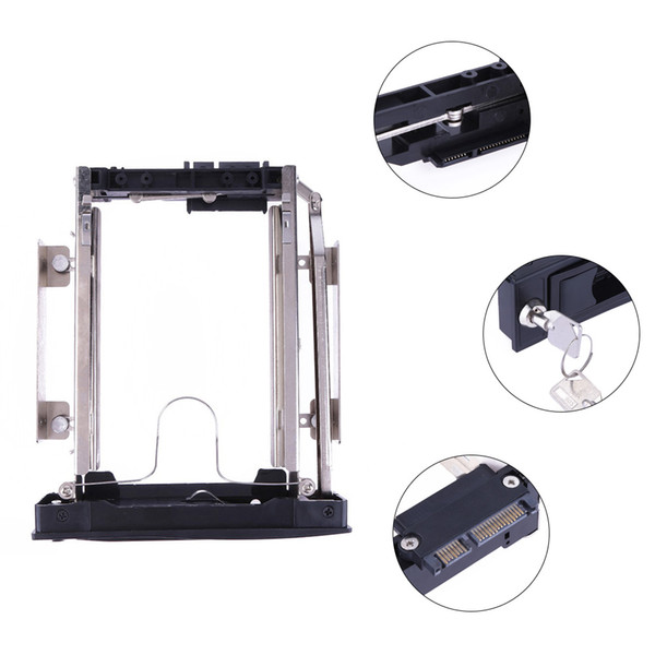 "3.5 inch Hard Drive Bracket SATA HDD Enclosure Caddy Metal HDD Storage Mobile Rack Bracket 3.5""hard disk adapter 3.5 adapter"