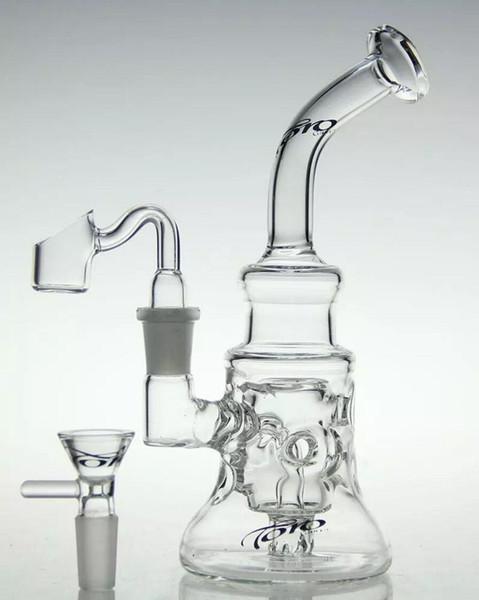 El yapımı toro cam sanatı geri dönüşüm cam bong su boruları yağ balmumu rig yüksek kaliteli yağ yakıcı 14.4mm ortak veya sigara aksesuarları satın
