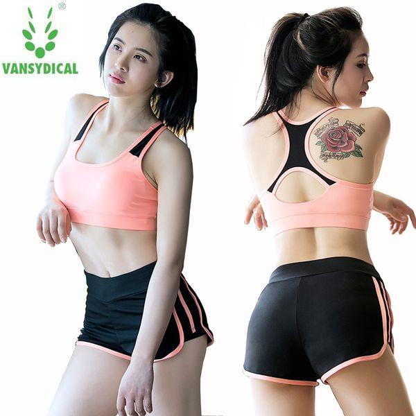 Ropa de fitness de verano 2 unids Gym Yoga Sets Ropa deportiva de mujer Running mallas de entrenamiento para mujeres Jogging traje deportivo ropa de yoga
