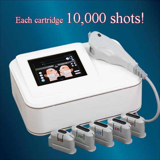 Hochwertiges tragbares Mini-HIFU für Gesicht Hals HIFU Hochintensives fokussiertes Ultraschall-Ultraschallmesser Anti-Aging Beauty Facial Machine