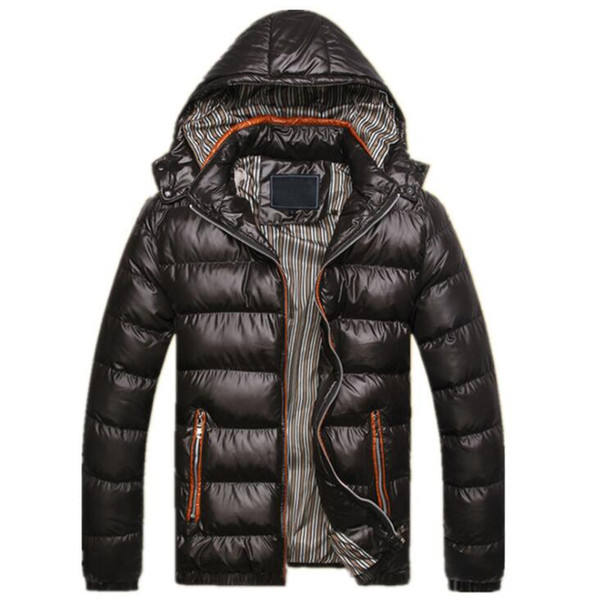 2018 Winter Warm Jacket Men Casual Thick Parkas Coat Thermal Sportswear Outwear Hombre Hooded Coon-Padded Jackets Clothing 4XL