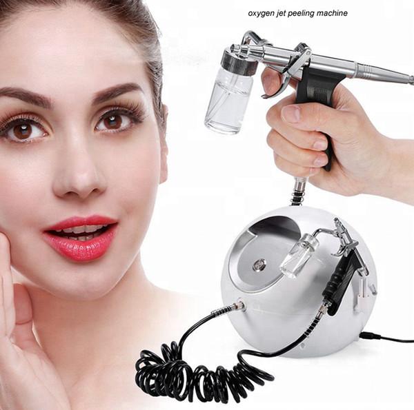 Professional Air Brush Kit Oxygen Spray facial Beauty Machine Water Jet Skin Care Injection Spray Gun free shipping