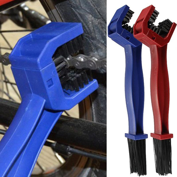 best selling Plastic Cycling Motorcycle Chain Brush Bicycle Chain Cleaner Gear Grunge Brush Cleaner Outdoor Scrubber Tool Bicycle Accessories