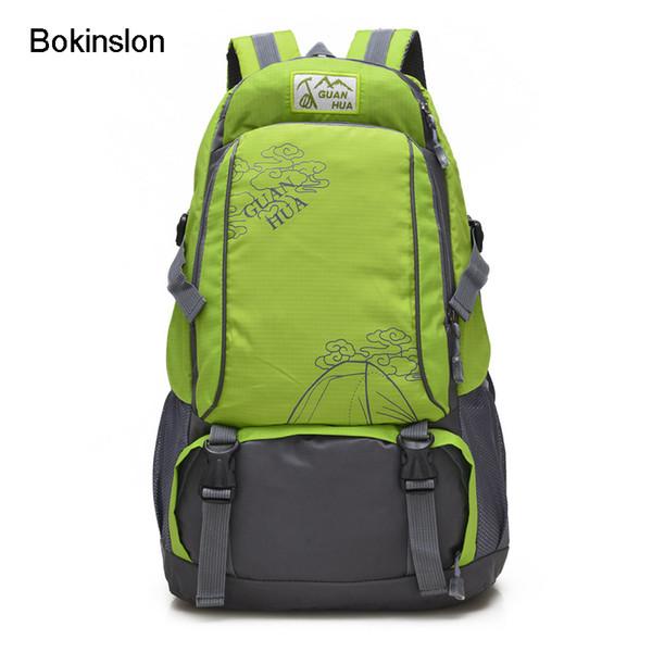 Bokinslon Mens Travel Backpack Fashion Oxford Men Casual Backpack Solid Color Large Capacity Men
