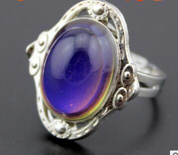 Thermochromic ring chameleon rings magic ring love gem rings christmas gifts cheapest rings three styles 174