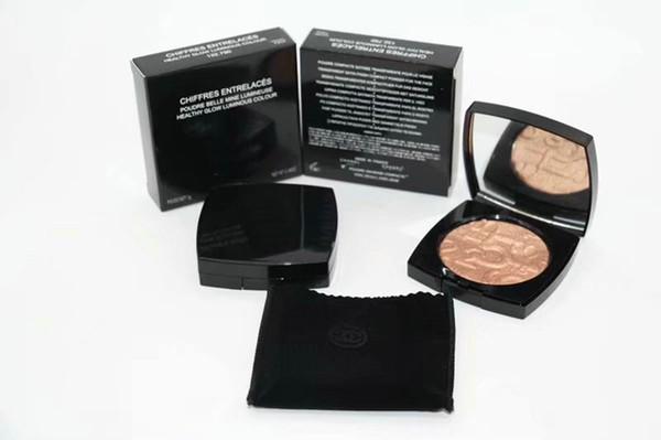 New Makeup Metallic Face Pressed Powder Healthy Glow Luminous Colour Face Powder Best Shimmer Brighten Face Powder