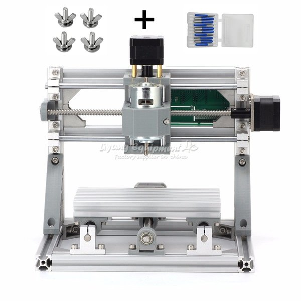 2019 Russia Tax Mini CNC 1610 + 500mw Laser CNC Engraving Machine Diy Lathe  With GRBL Control From Lybga6, $167 36 | DHgate Com