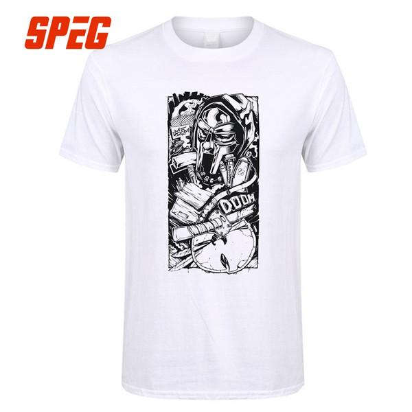 Mf Doom T Shirt For Men Vintage Crewneck Short Sleeved Game Clothing Cotton Hot Sale Men T Shirt Designer Tees Male O Neck