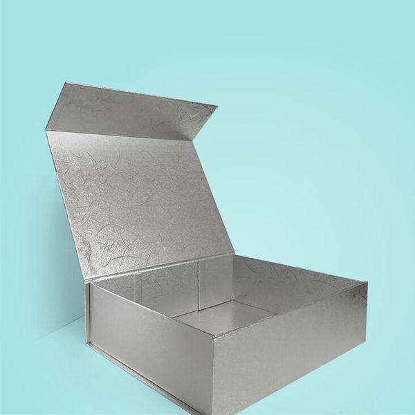 الفضة 32 × 24 × 9 سم