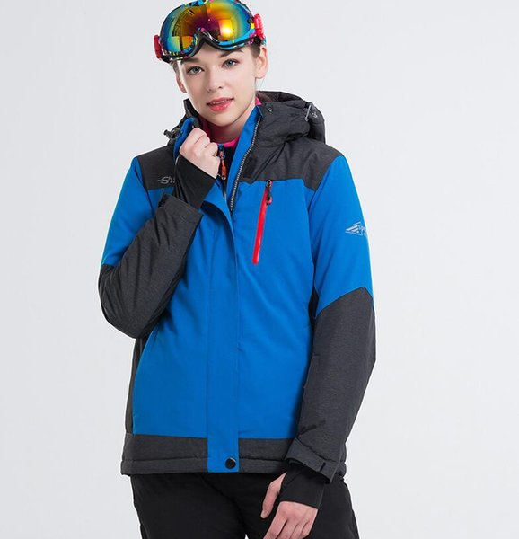 Brand Women Winter Warm Ski Jacket S-XXL Size Women Windproof Sports Jackets High Quality Snow Jackets Snowboarding Tops Outdoor Sports Coat