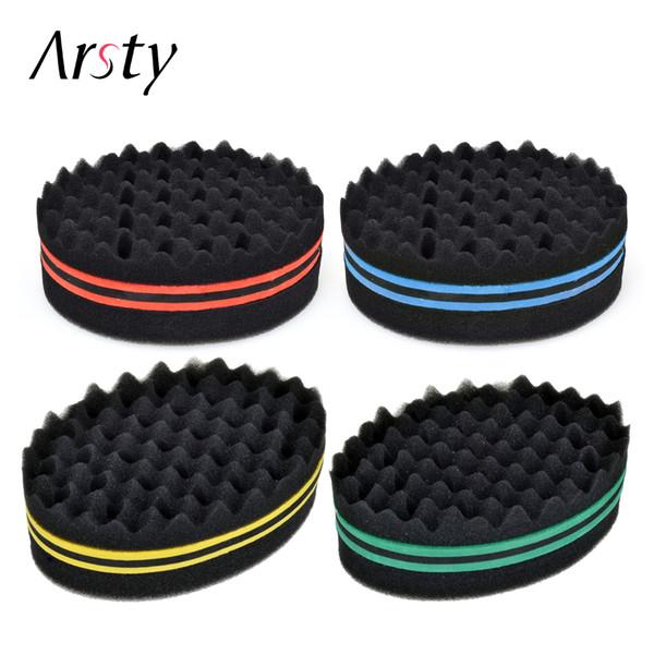 Arsty Magic twist hair brush sponge, Hair curl sponge brush for natural hair, afro coil wave dreads sponge Free P&P