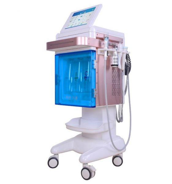 Gesichtshydro Dermabrasion Sauerstoff Jet Peel Haut feuchtigkeitsspendende Sauerstoff Injektor Sprayer Wasser Haut Managment Schönheit Maschine