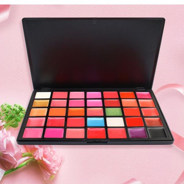 36Colors Pro Makeup Cosmetic Lip Gloss Lipstick Palette Long lasting Moisturizer Makeup Cosmetic Lipstick