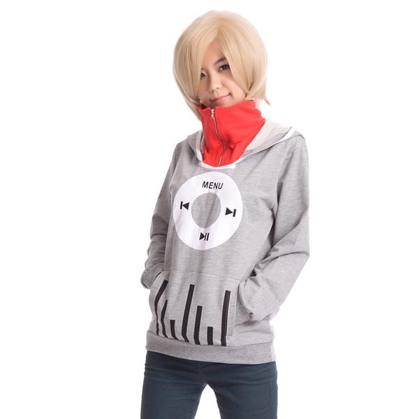 Kagerou проект Mekakucity актеры косплей костюм Кидо косплей балахон топ