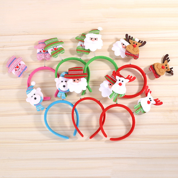 Christmas Ornament Head Buckle Party Decoration Children's Gift Christmas Supplies
