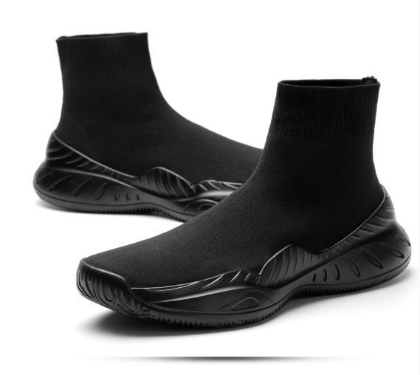 Summer breathable socks, men's inner shoes, 10CM, men's shoes, casual sports, hip hop shoes, men's Korean Trend 8 - 11.5