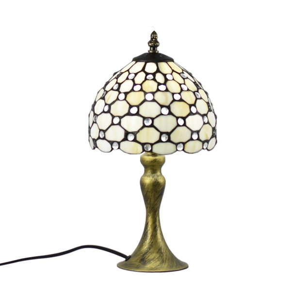 Atreus Rare Antique Vintage Brass Bronze Dale Table Tiffany Lamps table lamp fit for home bed reading dinner room free shipping