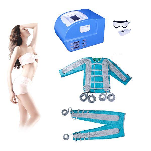 2019 Pressothérapie Machine de drainage lymphatique Sauna Traitement de pressothérapie, stimulation musculaire, désintoxication, massage à l'air, massage lymphatique, machine de drainage