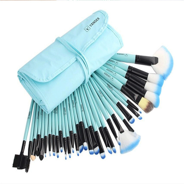 Professional Makeup Brushes Set Make Up Powder Brush Pinceaux maquillage Beauty Cosmetic Tools Kit Eyeshadow Lip Brush Bag 32Pcs/set