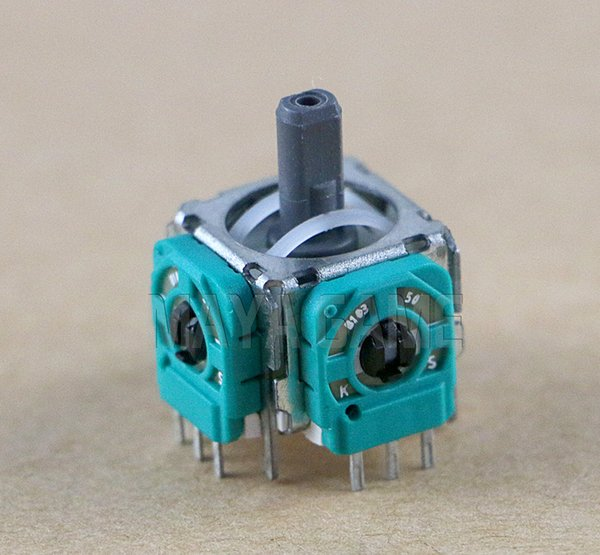 Per Switch NS Pro controller joypad parte 3D analogico Joystick Thumb Stick Joystick Sensor Module OEM