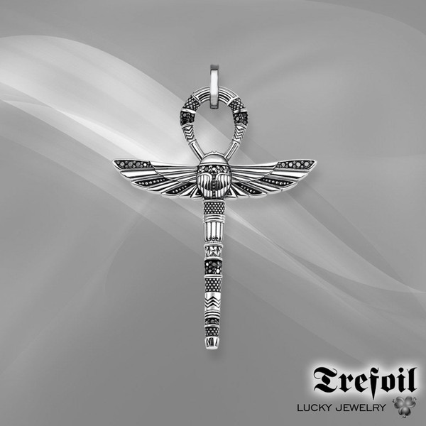 2018 The New fashion accessories Pendant Pharaoh 925 sterling silver gift male Suitable for necklace
